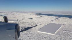 Και δεύτερο ορθογώνιο παγόβουνο εντόπισε η NASA