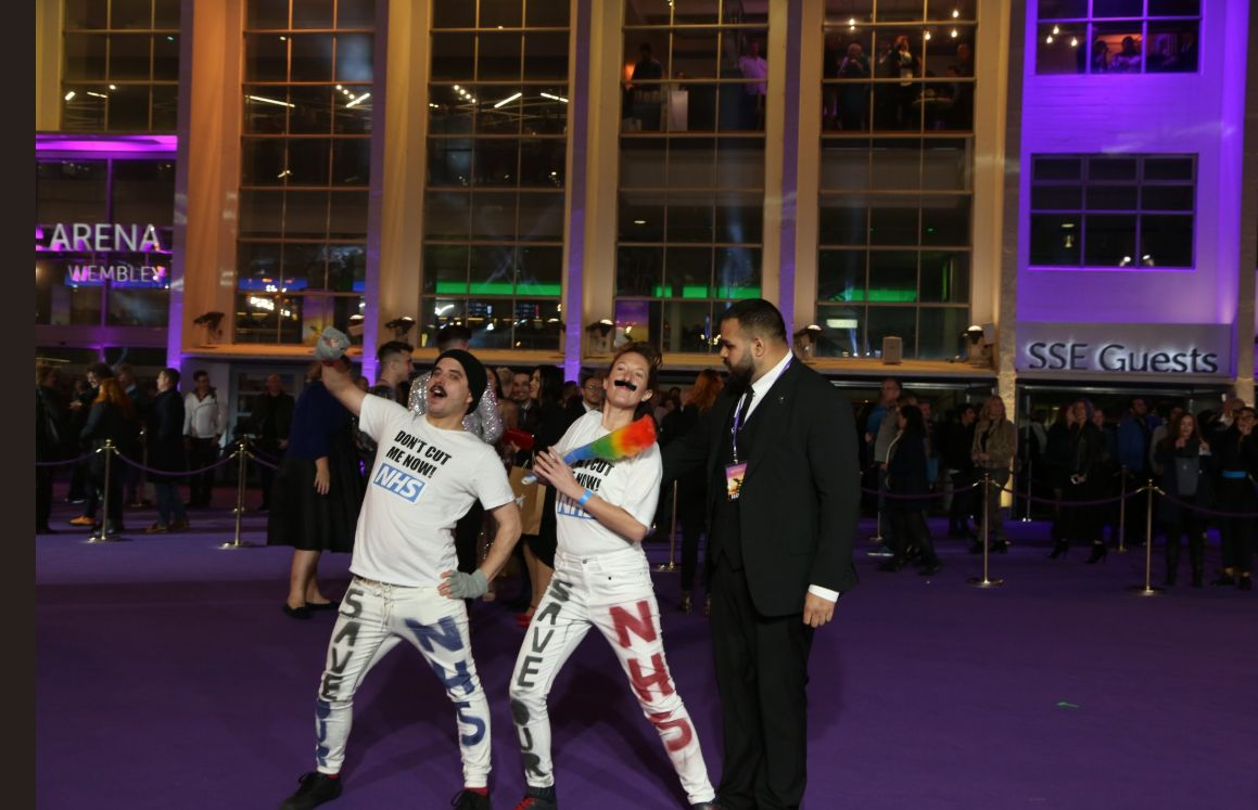'Bohemian Rhapsody' Premiere Crashed By Protesters With Message About HIV