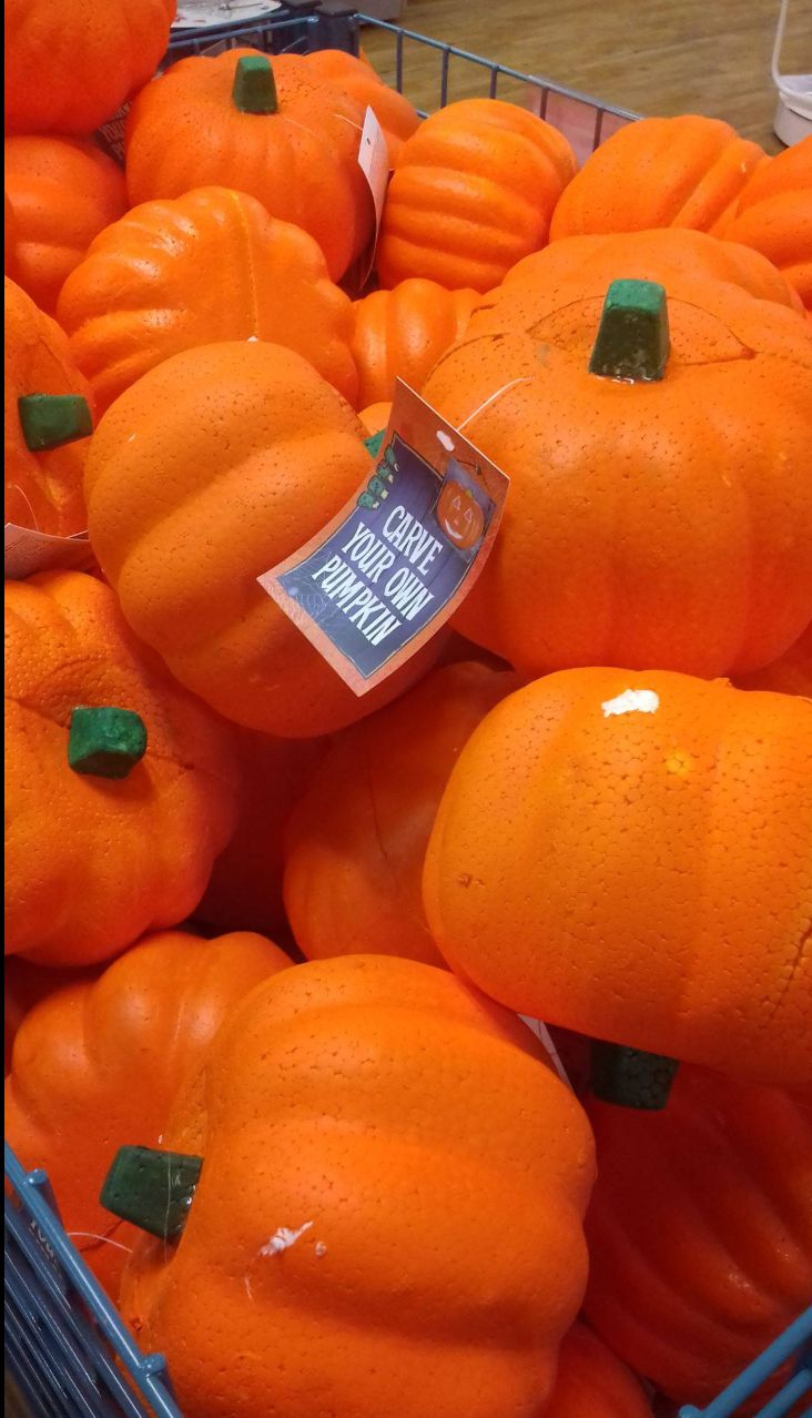 Poundland Has Pulled A Range Of Plastic Pumpkins From Sale After A