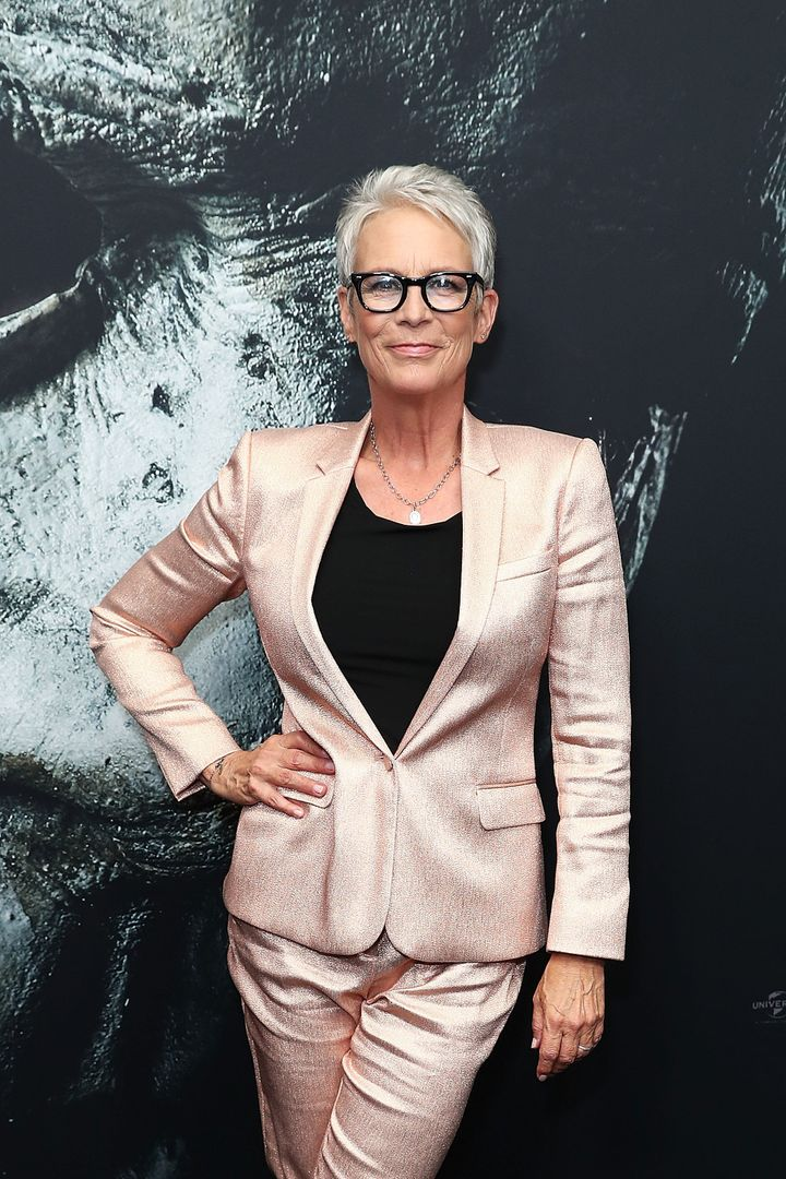Jamie Lee Curtis faced an Australian DJ who praised Donald Trump while promoting his film in Australia.