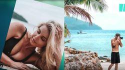 La photo de plage a désormais son île