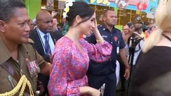 Meghan's Visit To A Fiji Market Cut Short Over Security