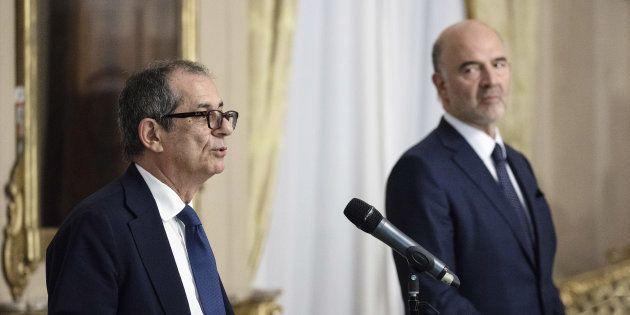 O Ιταλός υπουργός Οικονομικών,...