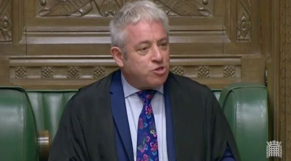 John Bercow Brands Tommy Robinson A 'Loathsome, Obnoxious, Repellant