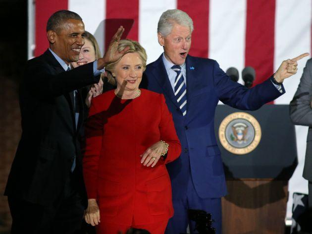 버락 오바마 전 미국 대통령과 빌 클린턴 전 미국 대통령 부부에게 폭발물 추정 소포가