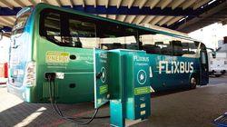 Flixbus: Erster Elektrobus fährt zwischen Frankfurt und
