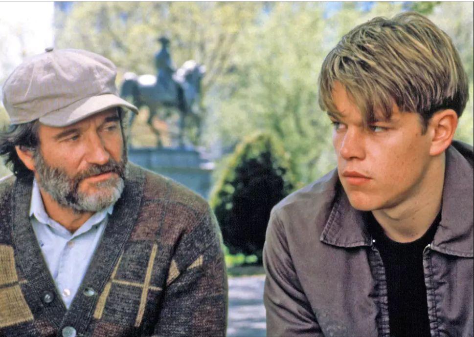"""Good Will Hunting"" on Netflix."