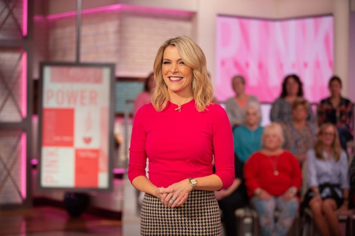 "Megyn Kelly hosts one-third of the ""Today"" show."