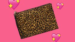 You Need This Whistles Leopard Print Clutch Bag In Your