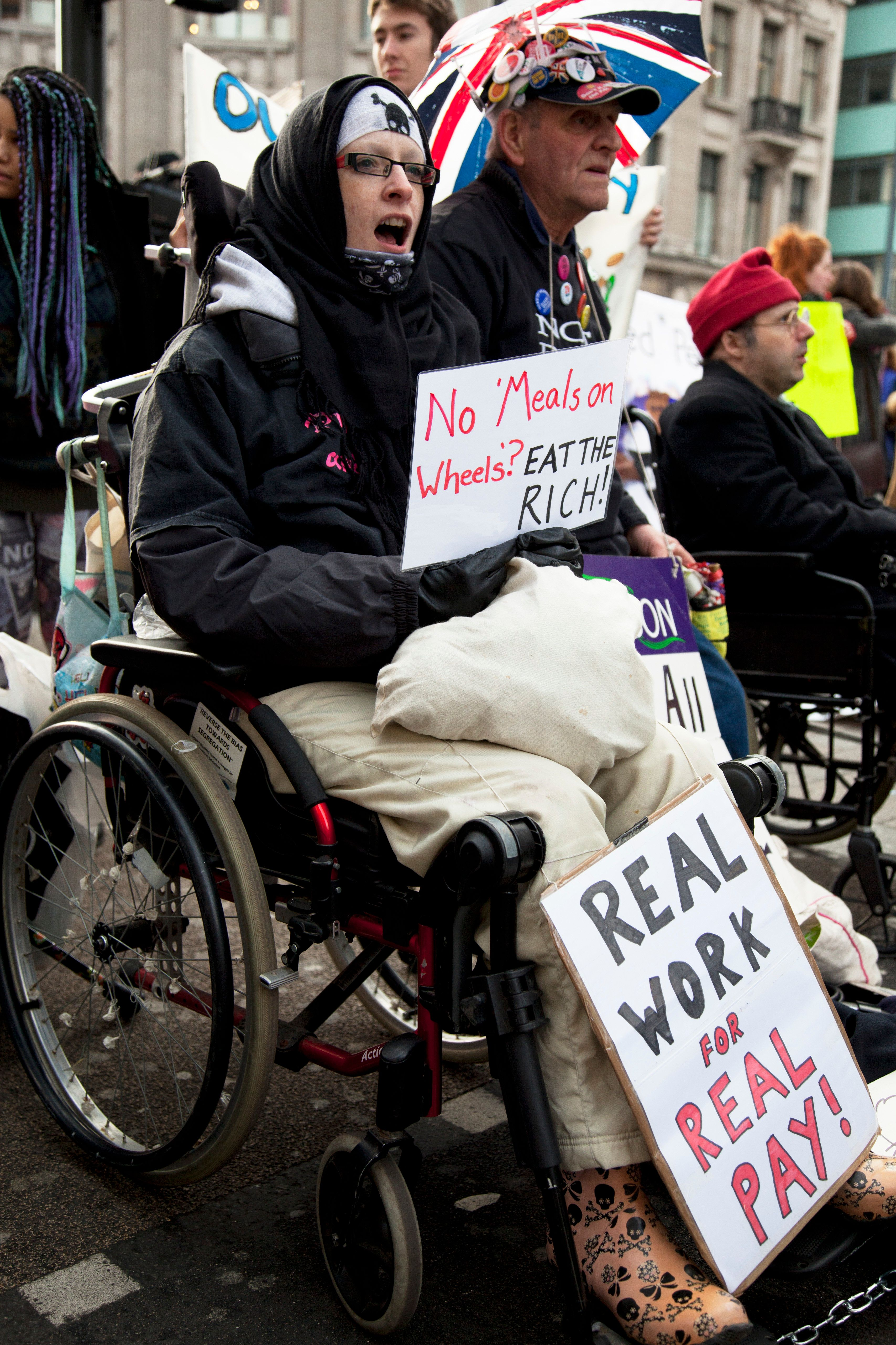 Disabled people in Britain find themselves increasingly excluded from society, a new report finds.