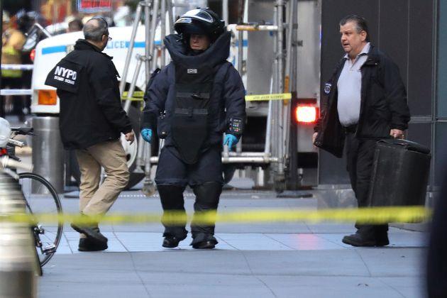 CNN 뉴욕지국에도 폭발물 추정 소포가