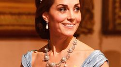 Kate Middleton Looks Every Inch A Princess In Diana's Favorite