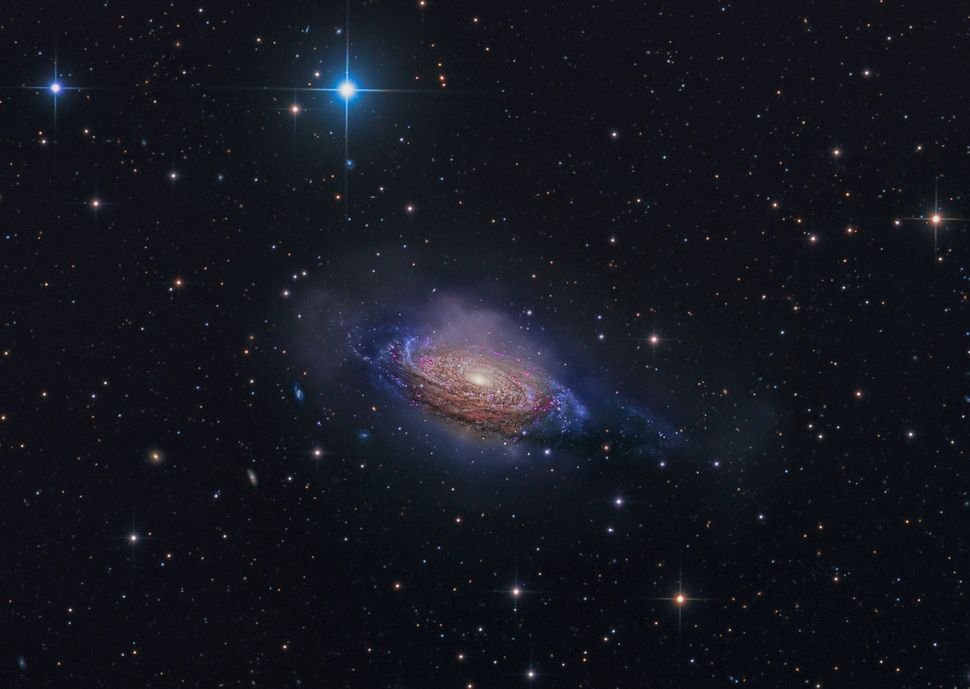 """""""NGC 3521 — Mysterious Galaxy"""""""