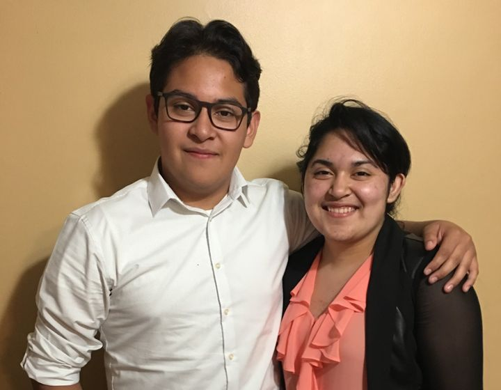 Sam and Diana Amaya are both beneficiaries of the Deferred Action for Childhood Arrivals program.