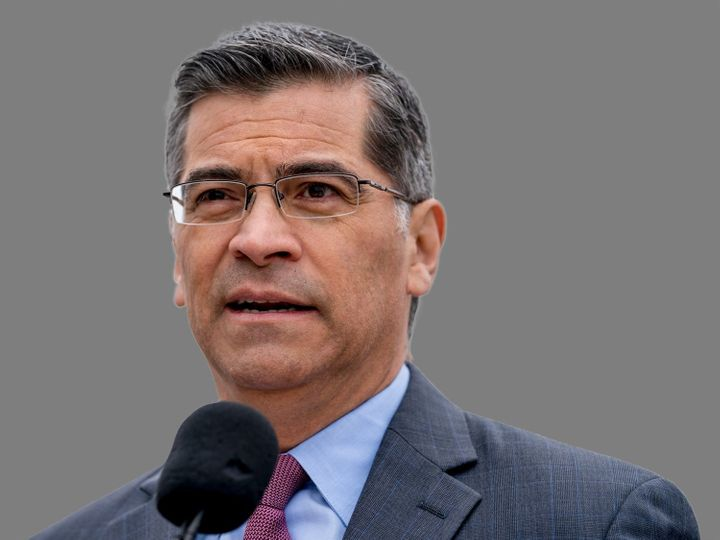 California Attorney General Xavier Becerra is spearheading the effort to challenge the Trump administration's climate regulat