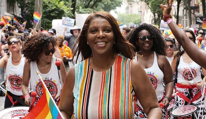 Tish James,a Democrat running for attorney general of New York.