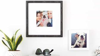 If it was good enough to make it into the Instagram feed, it must be good enough for a frame. Connect directly to your Instagram account or grab an image off your friend's, but have a treasured moment custom framed at an affordable price.   Get em here.