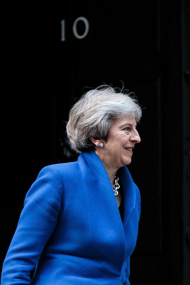 테레사 메이 영국 총리가 '2주 내로' 교체될 수 있다는 주장이