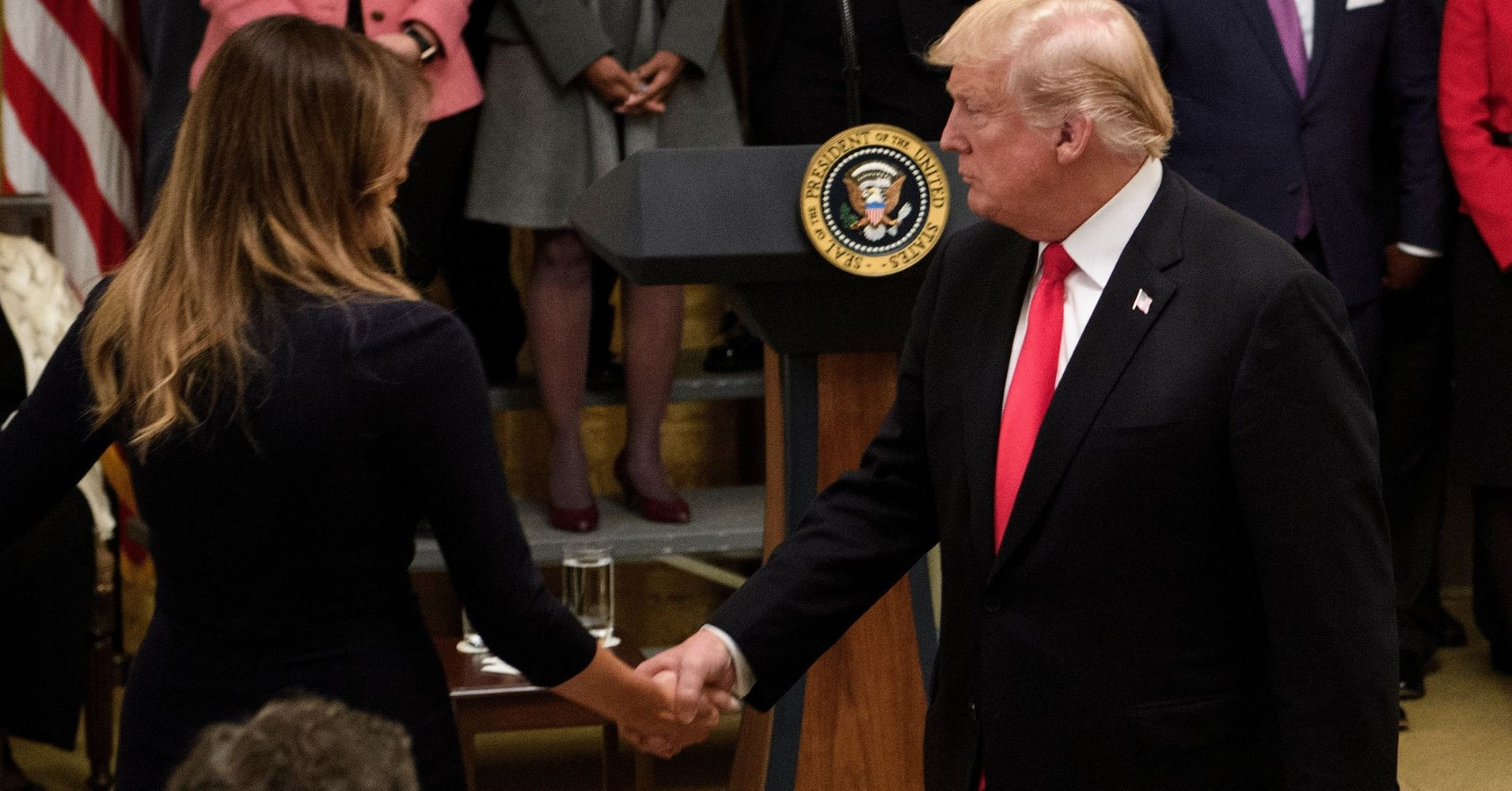Melania Trump Appears To Have Saved Donald Trump From ...