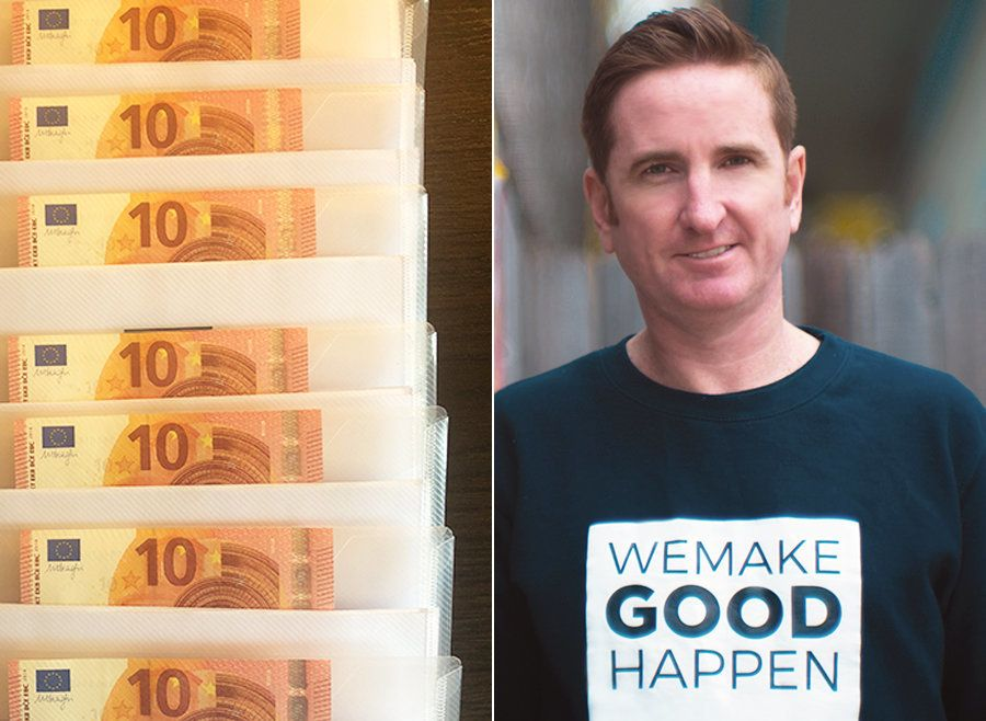 This Man Is Leaving Tenners In Cities Around The UK And Ireland – But There's A