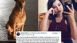Respect: Σκύλος παριστάνει το αδέσποτο έξω από φαστφουντάδικο για να τρώει τζάμπα burgers