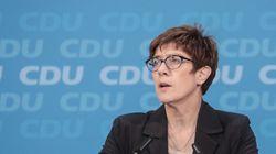 Kurz vor der Hessen-Wahl spricht CDU-Generalsekretärin Kramp-Karrenbauer über möglichen