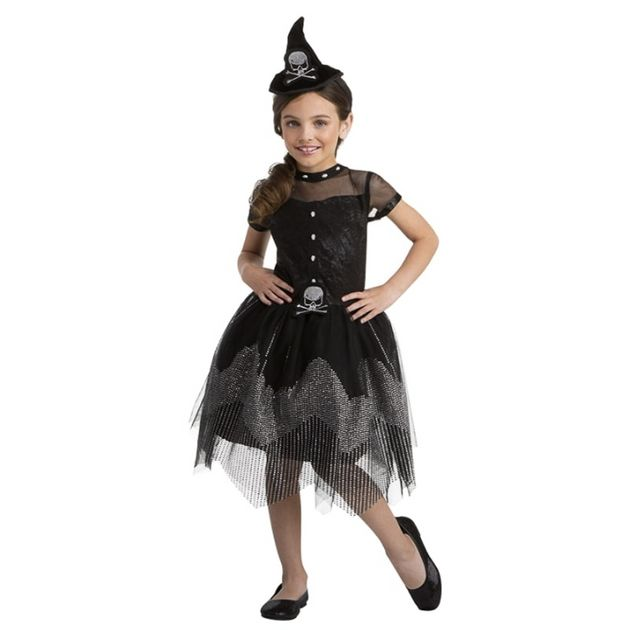 Skull witch costume bough from B&M.