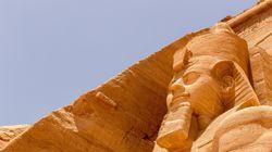 Κομμάτια φορείου του φαραώ Ραμσή του Β' ανακάλυψαν