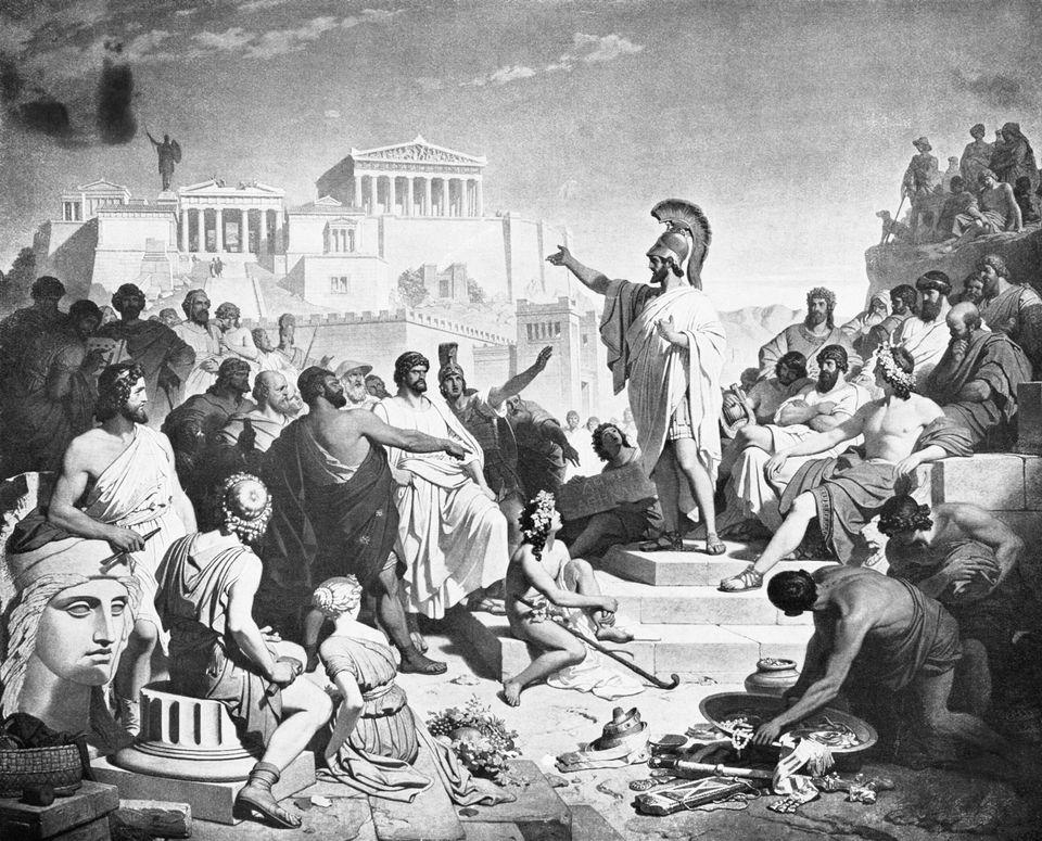 Όταν ο Βενιζέλος «συνάντησε» τον Επιτάφιο του Περικλή. Γιατί είναι επίκαιρος στην Ελλάδα του