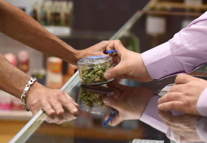 """Playing with cannabis while chatting with customers was definitely unlike any other day at an office I've ever experie"