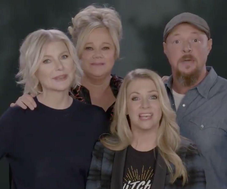 Original 'Sabrina' Stars Reunite To Send New Netflix Show's Cast Their 'Best