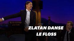 Zlatan Ibrahimovic danse le floss à la
