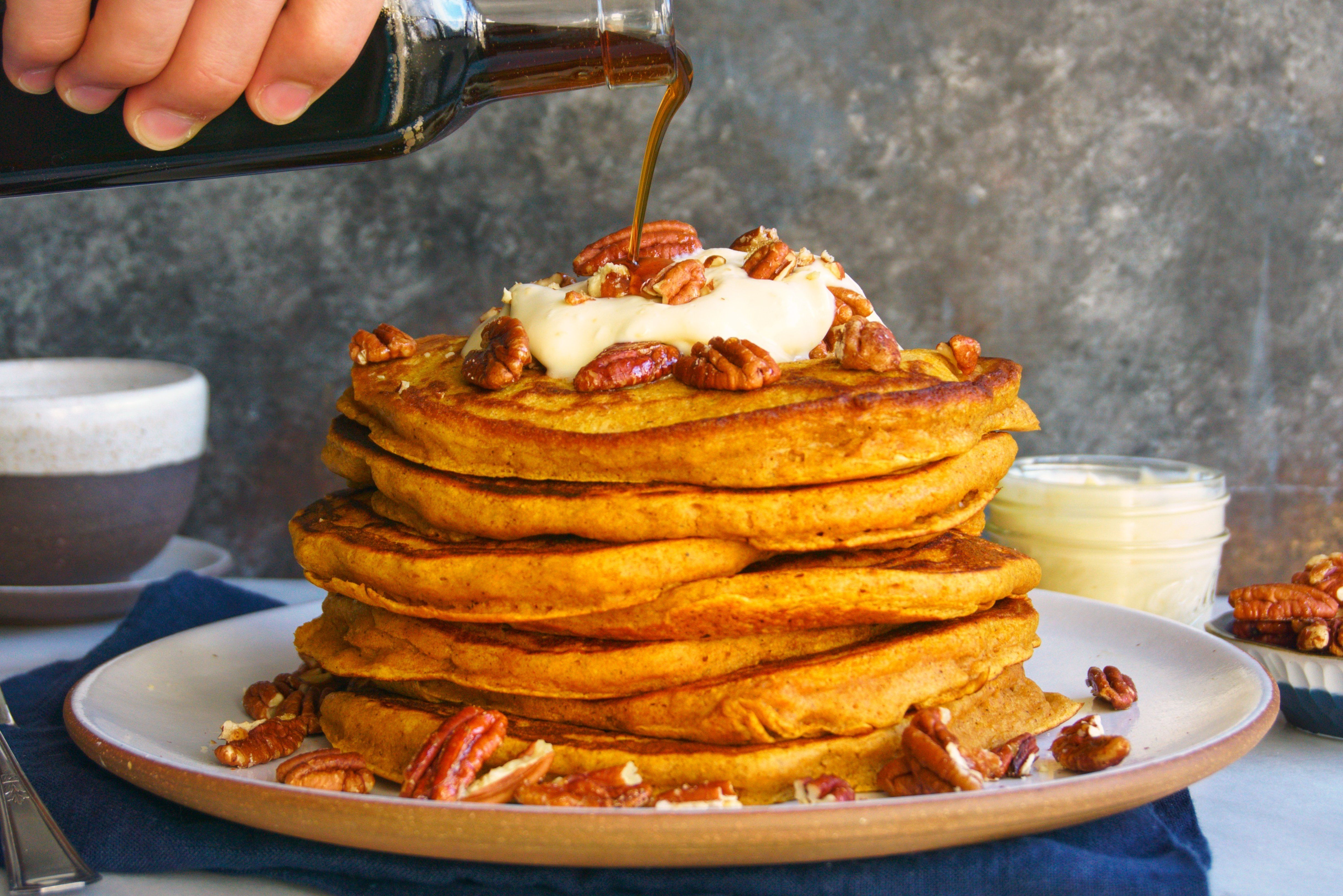 The Pumpkin Spice Pancakes You'll Be Making All