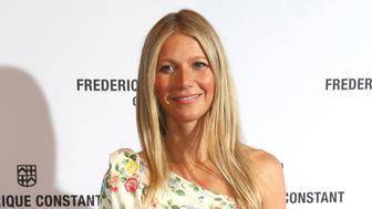Actress Gwyneth Paltrow poses for photographers upon arrival at the Frederique Constant Launch Party in London, Thursday, June 21, 2018. (Photo by Joel C Ryan/Invision/AP)