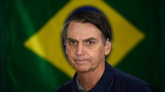 Jair Bolsonaro is a former army captain who has expressed support for Brazil's 1964-85 dictatorship and the use of torture (AFP Photo/Mauro PIMENTEL)