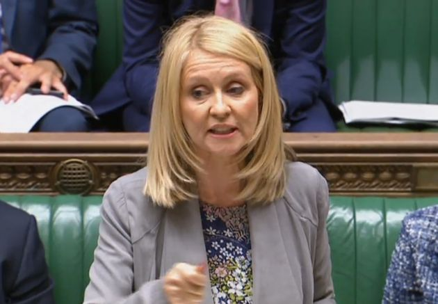 Secretary of State for Work and Pensions Esther McVey
