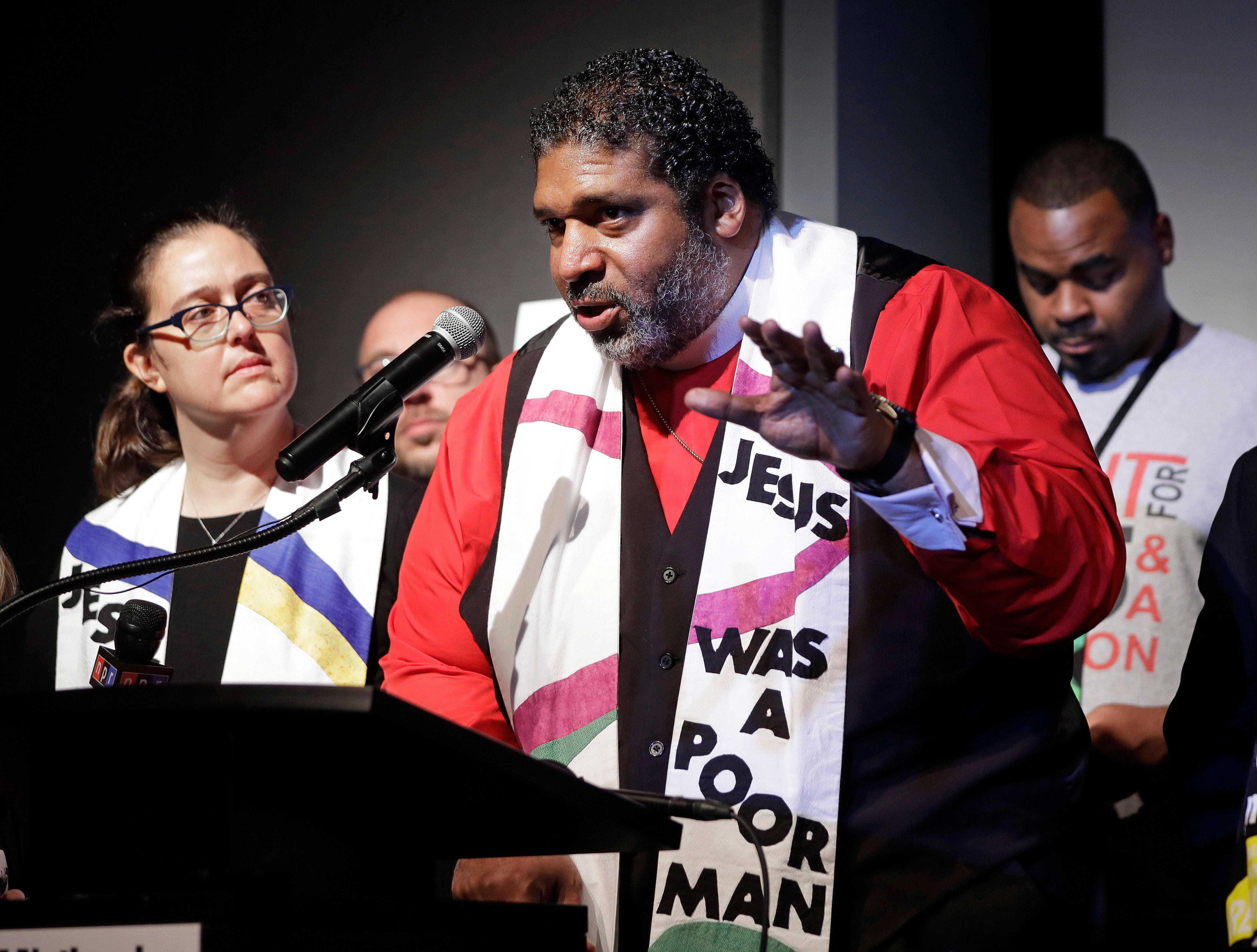 """The Rev. <a href=""""https://www.huffingtonpost.com/topic/rev-william-barber"""" target=""""_blank"""">William J. Barber II</a>is a"""