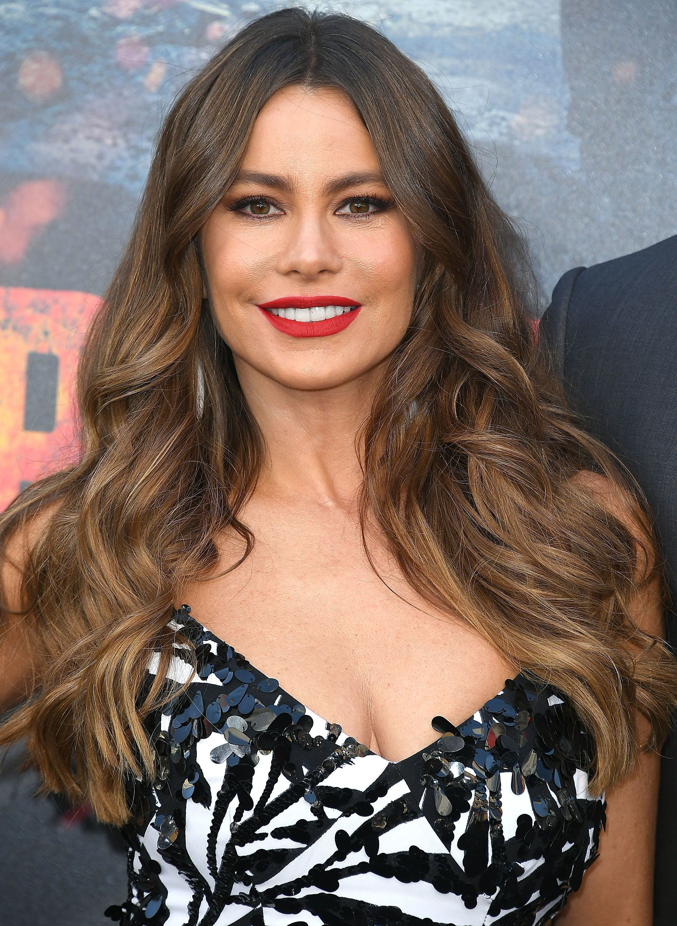 LOS ANGELES, CA - APRIL 04:  Sofia Vergara arrives at the Premiere Of Warner Bros. Pictures' 'Rampage' at Microsoft Theater on April 4, 2018 in Los Angeles, California.  (Photo by Steve Granitz/WireImage)