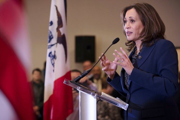 Sen. Kamala Harris of California is among other Democrats viewed as a presidential contender in 2020.