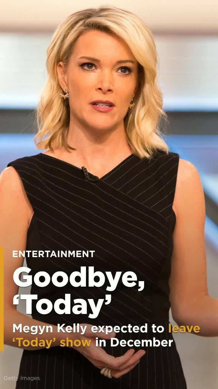 "Megyn Kelly is expected to depart from NBC's ""Today"" show in December, a source from the show told People magazine. Discussions surrounding her departure reportedly began prior to the recent blackface controversy created by the host."