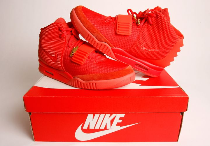 Nike&nbsp;Air Yeezy 2 Red October sneakers. They retailed for $250<strong>&nbsp;</strong>in 2014<strong>&nbsp;</strong>and are now worth $5,655.