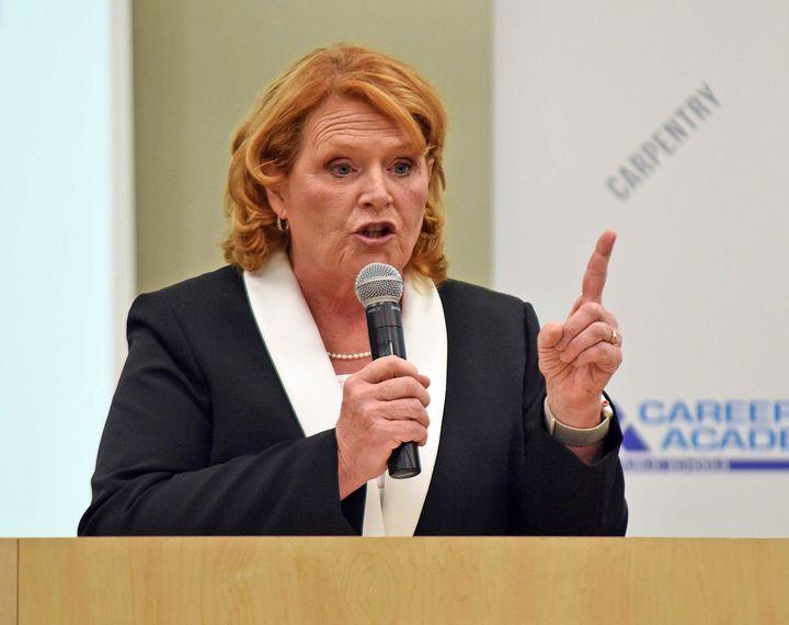 Sen. Heidi Heitkamp (D-N.D.) is an underdog in her re-election bid against Rep. Kevin Cramer (R-N.D.).