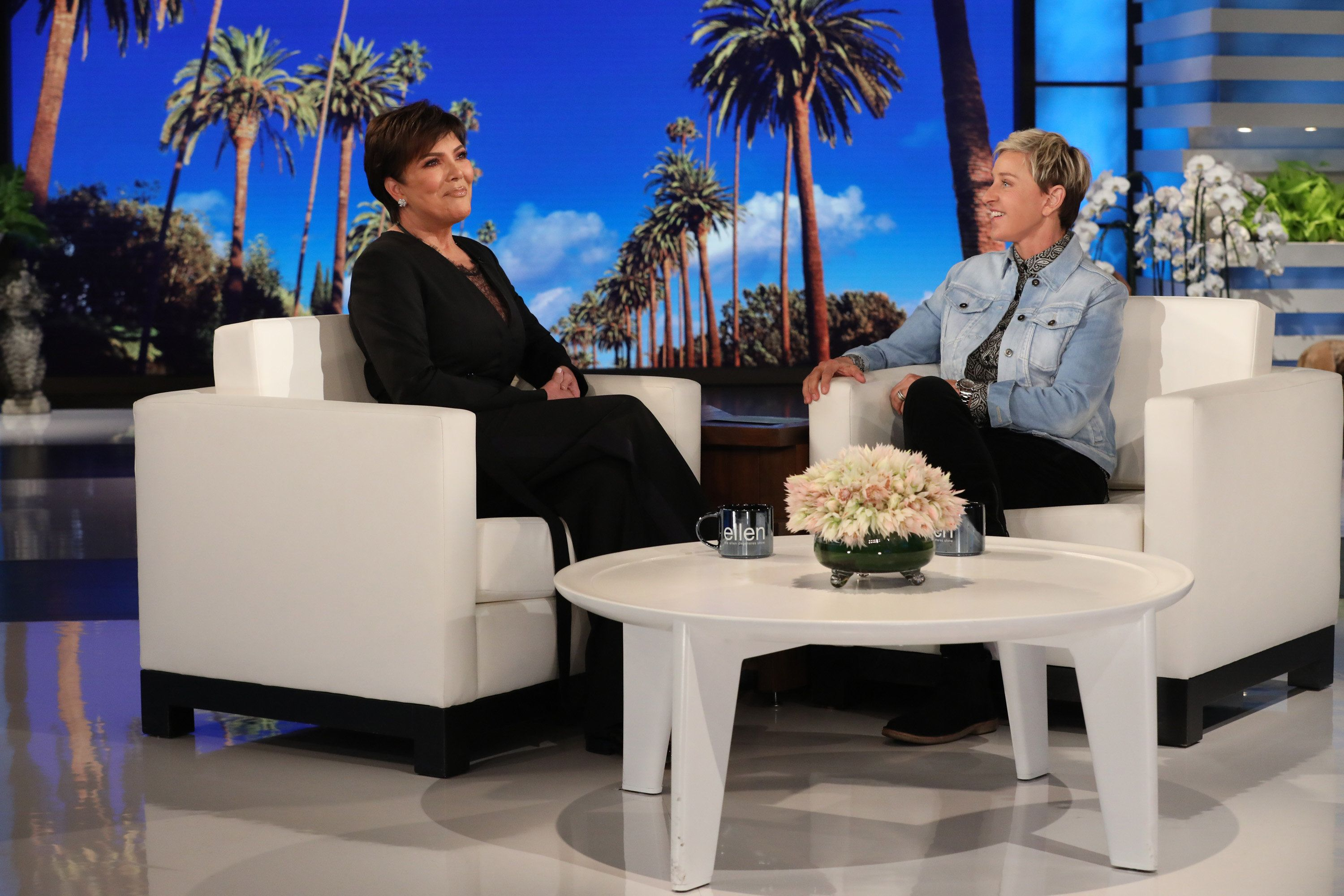 "In this photo released by Warner Bros., Ellen DeGeneres is seen during a taping of ""The Ellen DeGeneres Show"" at the Warner Bros. lot in Burbank, Calif. (Photo by Michael Rozman/Warner Bros.)"