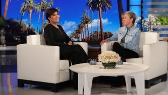 "In this photo released by Warner Bros., Ellen DeGeneres is seen during a taping of ""The Ellen DeGeneres Show"" at the Warner Bros. lot in Burbank, Calif. (Photo by Michael Rozman/Warner Bros.)"