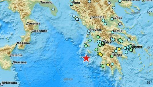 Σεισμός 6,4 ρίχτερ ανοιχτά της
