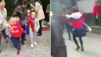 Children injured in knife spree at kindergarten in China