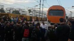 ONCF: Une manifestation de voyageurs contre les retards bloque la circulation entre Kénitra et