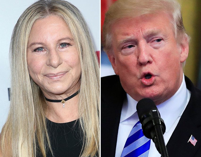 Barbra Streisand Donald Trump