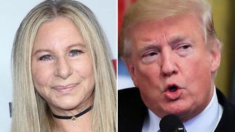 Barbra Streisand Donald Trump