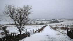 The Big Freeze Arrives As Arctic Blast Brings Snow, Hail And Sleet To